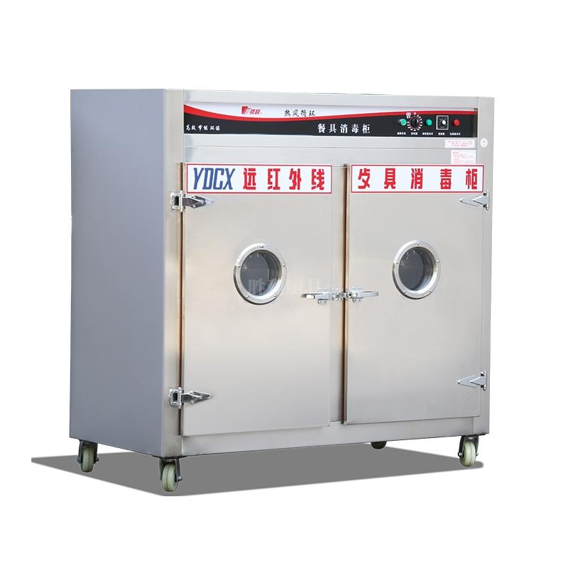 YDCX-6AF 不锈钢热风循环餐具消毒柜