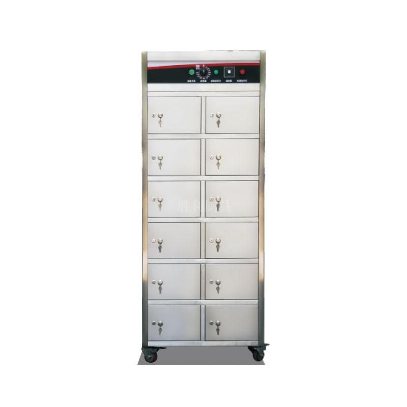 YDCX-2DF-12分隔式远红外线热风循环餐具消毒柜