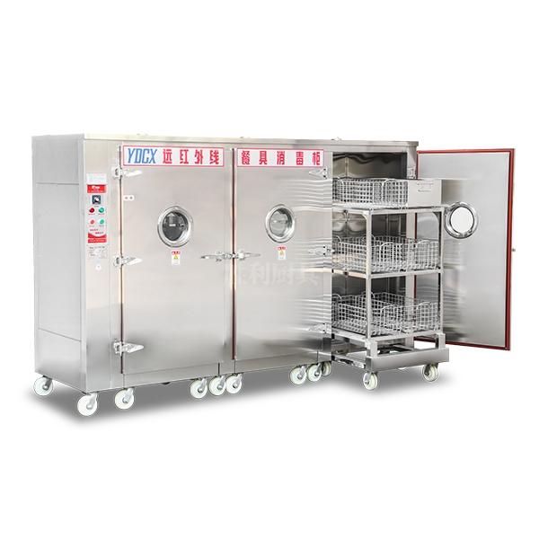 YDCX-13.5AH 不锈钢热风循环餐具消毒柜
